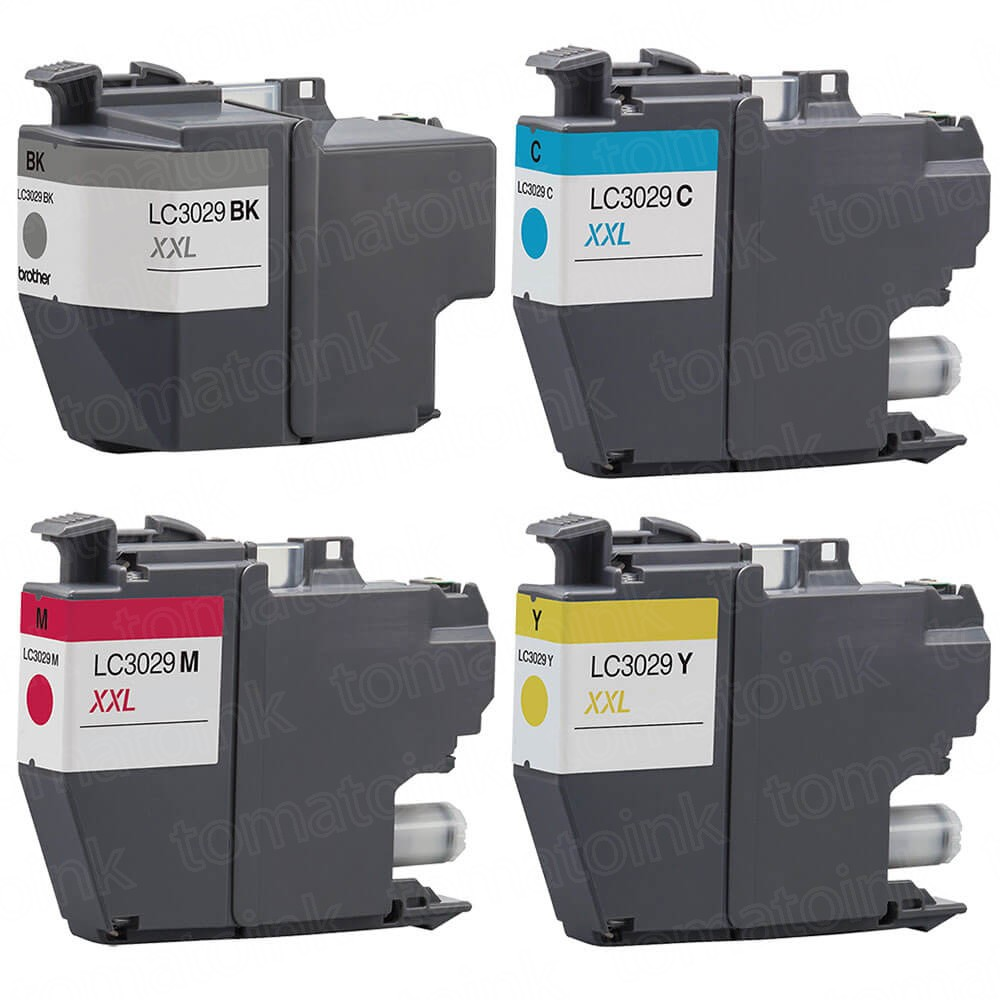 Brother LC3029 Black & Color 4-pack High Yield Ink Cartridges