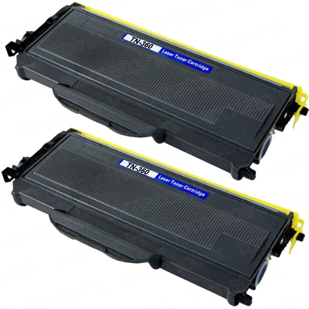 Brother TN360 (2-pack) High Yield Black Toner Cartridges