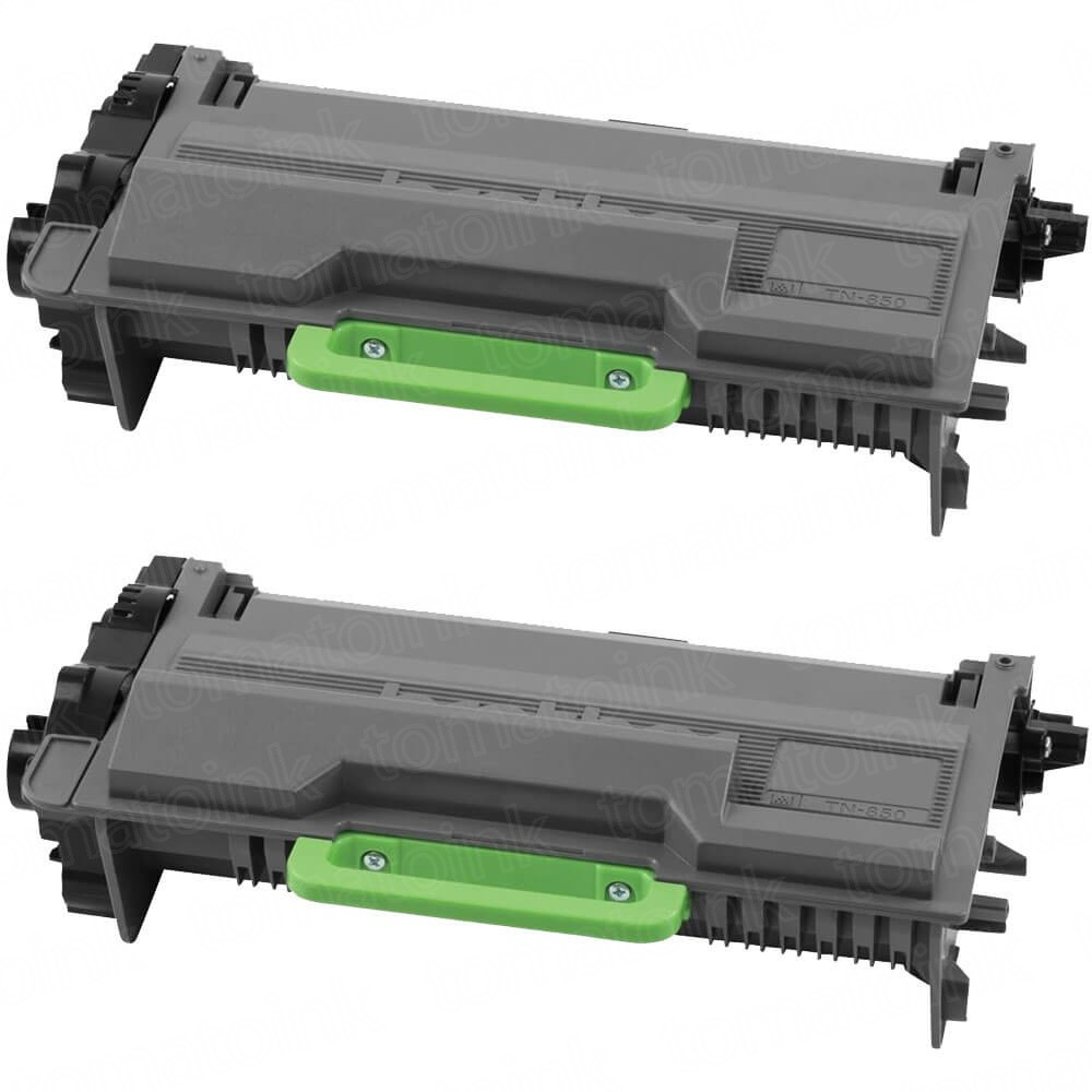 Brother TN850 (2-pack) High Yield Black Toner Cartridges