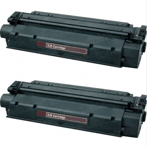Canon X25 (2-pack) Black Toner Cartridges