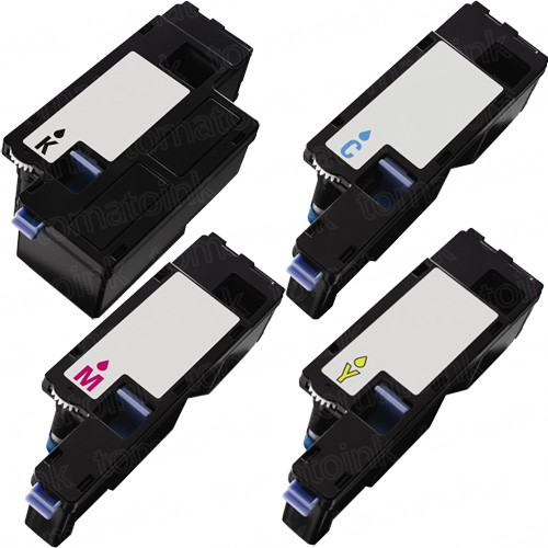 Dell 1250c (4-pack) High Yield Toner Cartridges