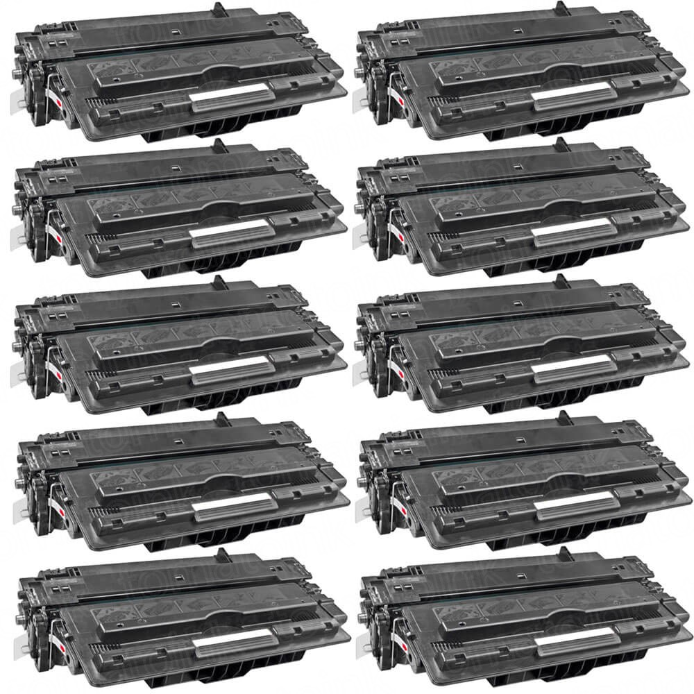 HP 14A (CF214A) 10-pack Black Toner Cartridges