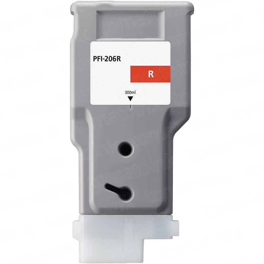 Canon PFI-206R Red Inkjet Cartridge