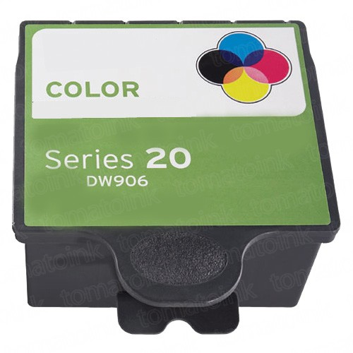 Dell DW906 Tri-Color Series 20 Ink Cartridge