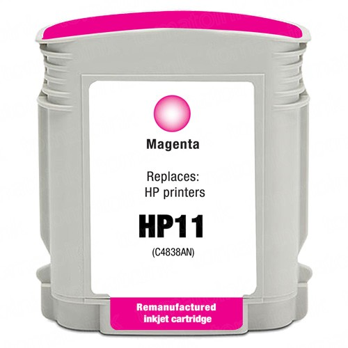 HP 11 C4837AN C4837A Magenta Ink Cartridge