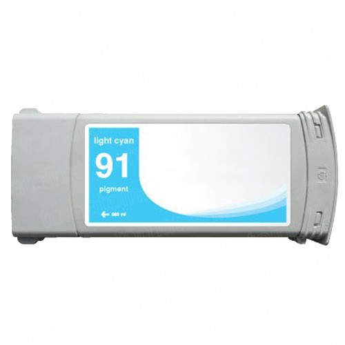 HP 91 C9470A Light Cyan Ink Cartridge