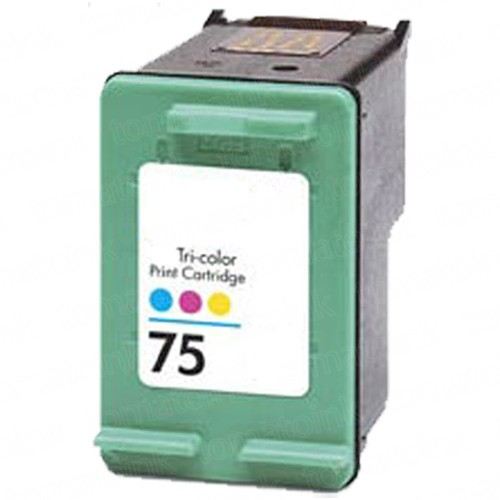 HP 75 CB337WN Color Ink Cartridge