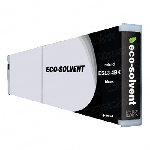 Roland ESL3-4BK Eco-Sol Max Black Ink Cartridge