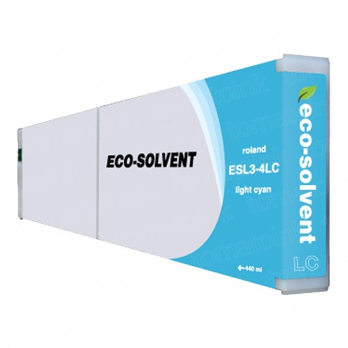 Roland ESL3-4LC Eco-Sol Max Light Cyan Ink Cartridge