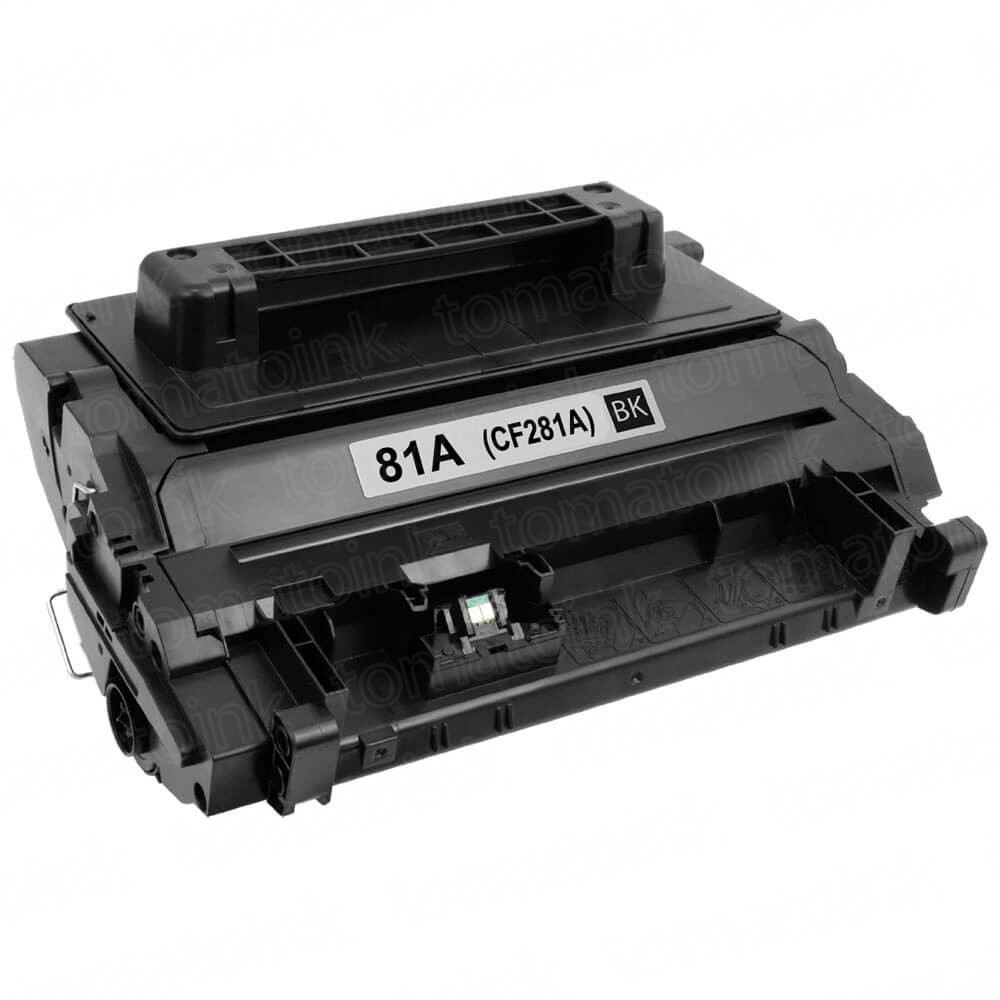 HP CF281A (HP 81A) Black Laser Toner Cartridge