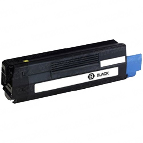 Okidata C6100 Black Laser Toner Cartridge
