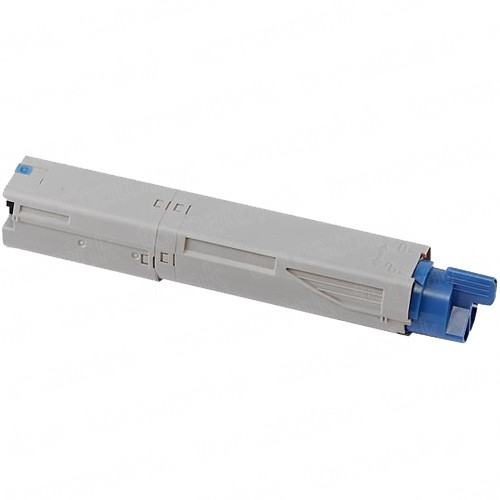 Okidata C3400 High Yield Cyan Laser Toner Cartridge