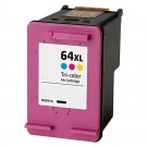 HP 64XL N9J91AN High Yield Color Ink Cartridge