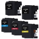 Brother LC103 XL Black & Color 5-pack High Yield Ink Cartridges