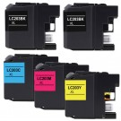 Brother LC203 Black & Color 5-pack High Yield Ink Cartridges