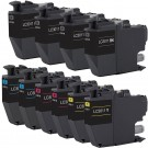 Brother LC3011 Black & Color 10-pack Ink Cartridges