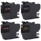 Brother LC3011 Black & Color 4-pack Ink Cartridges