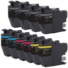 Brother LC3013 Black & Color 10-pack High Yield Ink Cartridges