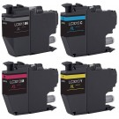 Brother LC3013 Black & Color 4-pack High Yield Ink Cartridges