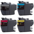 Brother LC3019 Black & Color 4-pack High Yield Ink Cartridges