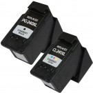 Canon PG-240XL Black & CL-241XL Color 2-pack High Yield Ink Cartridges