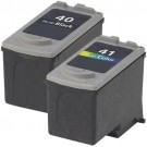 Canon PG-40 Black & CL-41 Color 2-pack Ink Cartridges