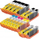 Canon PGI-250XL & CLI-251XL Black & Color 14-pack HY Ink Cartridges