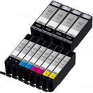 Canon PGI-270XL & CLI-271XL Black & Color 12-pack HY Ink Cartridges