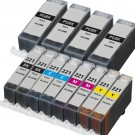 Canon PGI-220 & CLI-221 Black & Color 12-pack Ink Cartridges