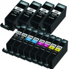 Canon PGI-225 & CLI-226 Black & Color 12-pack Ink Cartridges