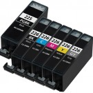 Canon PGI-225 & CLI-226 Black & Color 6-pack Ink Cartridges