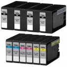 Canon PGI-1200XL Black & Color 10-pack High Yield Ink Cartridges