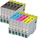 Epson 60 T060 Black & Color 11-pack Ink Cartridges