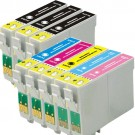 Epson 77 78 T077 T078 Black & Color 8-pack HY Ink Cartridges