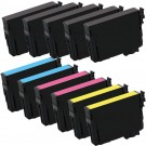 Epson 220XL T220XL Black & Color 11-pack HY Ink Cartridges
