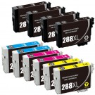 Epson 288XL T288XL Black & Color 10-pack HY Ink Cartridges