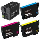 Epson 252XL T252XL Black & Color 4-pack HY Ink Cartridges