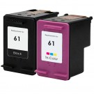 HP 61 Ink Cartridge Combo Pack 2