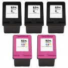 HP 62XL High Yield Black & Color 5-pack Ink Cartridges