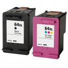 HP 64XL Ink Combo Pack 2 Cartridges