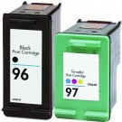 HP 96 Black & HP 97 Color 2-pack Ink Cartridges