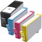 HP 564XL Black & Color 4-pack High Yield Ink Cartridges
