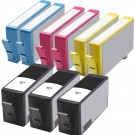 HP 564XL Black & Color 9-pack High Yield Ink Cartridges