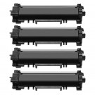 Brother TN760 (4-pack) High Yield Black Toner Cartridges