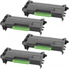 Brother TN850 (4-pack) High Yield Black Toner Cartridges