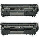 Canon 104 FX9 & FX10 (2-pack) Black Toner Cartridges