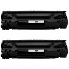 Canon 137 (2-pack) Black Toner Cartridges