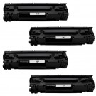 Canon 137 (4-pack) Black Toner Cartridges
