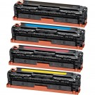 Canon 131 (4-pack) Black & Color Toner Cartridges