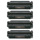 Canon X25 (4-pack) Black Toner Cartridges